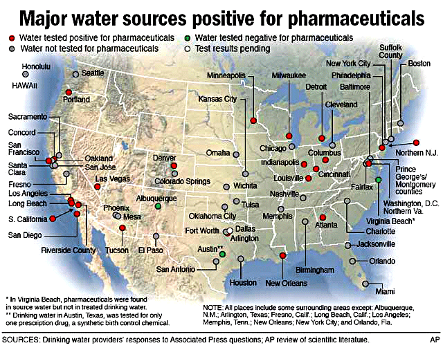 Pharmaceuticals in the U.S. Drinking Water