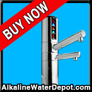 Delphi 5-plate Water Ionizer (UNDER COUNTER MODEL $2,695)