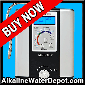 Melody 5-plate Water Ionizer (GREAT VALUE $1,595)
