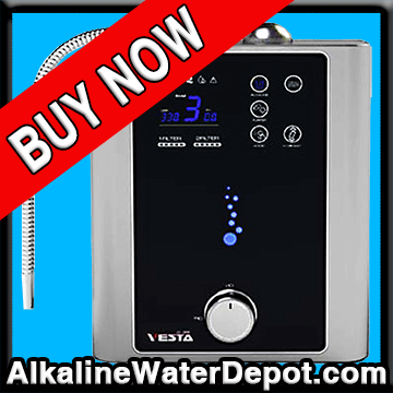 Vesta 9-plate Water Ionizer (MOST ADVANCED $2750)